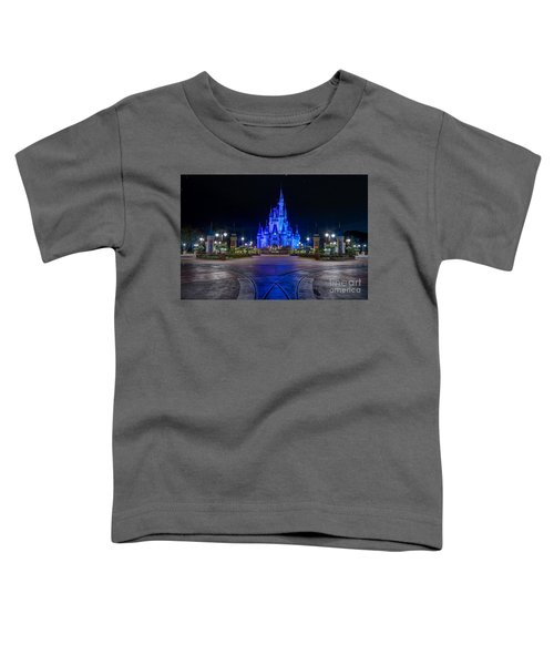 Cinderellas Castle Glow Toddler T-Shirt