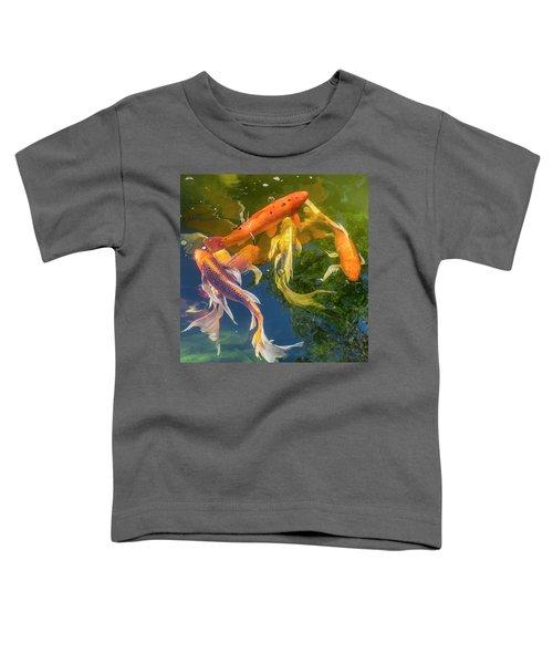 Circle Of Koi Toddler T-Shirt