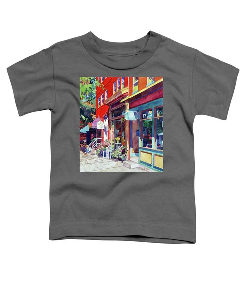 City Flower Toddler T-Shirt