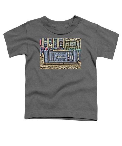 City Hall Sidewalk Toddler T-Shirt