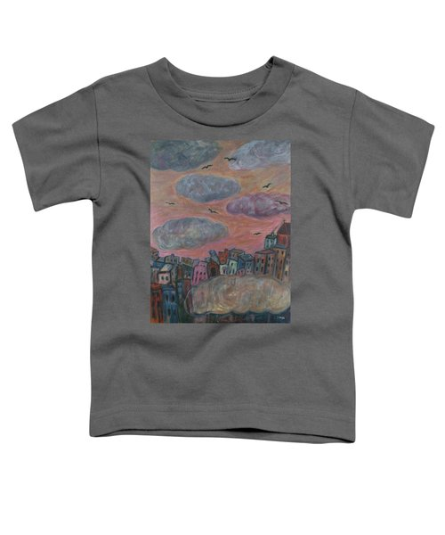 City Of Clouds Toddler T-Shirt