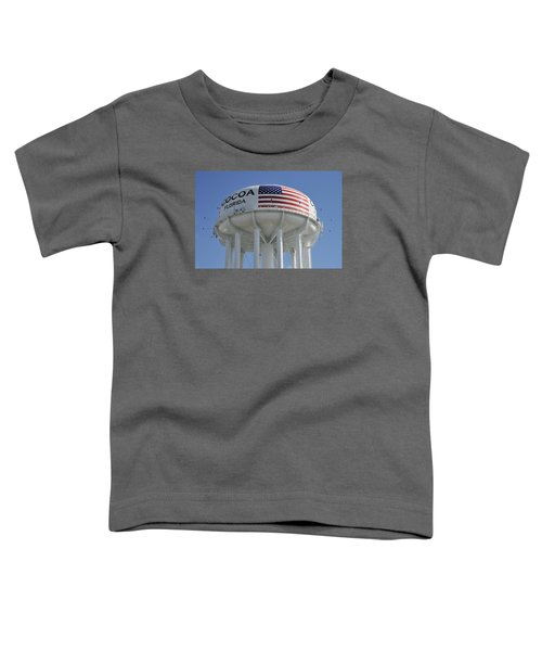 City Of Cocoa Water Tower Toddler T-Shirt