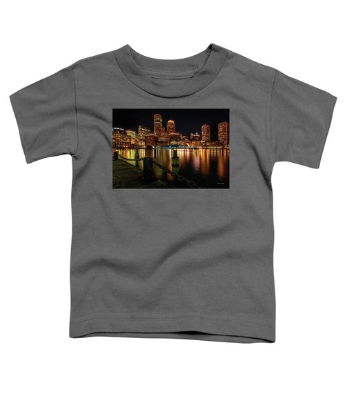 City With A Soul- Boston Harbor Toddler T-Shirt