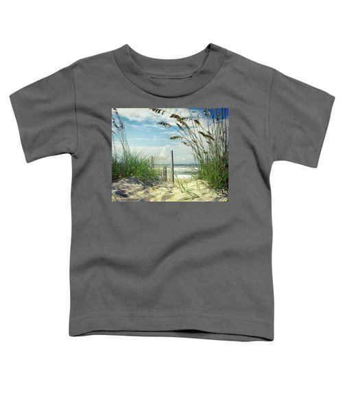 To The Beach Sea Oats Toddler T-Shirt