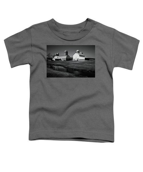 Classic Wisconsin Farm Toddler T-Shirt