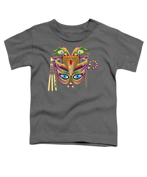 Cleopatra Viii For Any Color Products But No Prints Toddler T-Shirt by Bill Campitelle