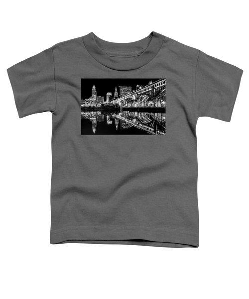 Cleveland After Dark Toddler T-Shirt