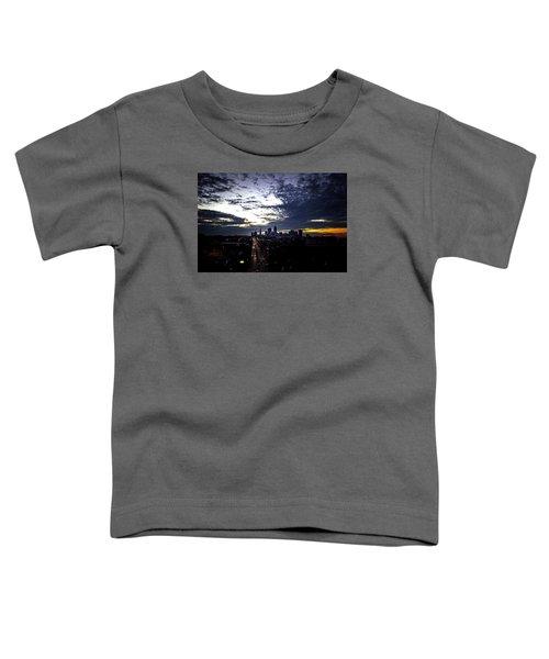 Cleveland At Dusk Toddler T-Shirt