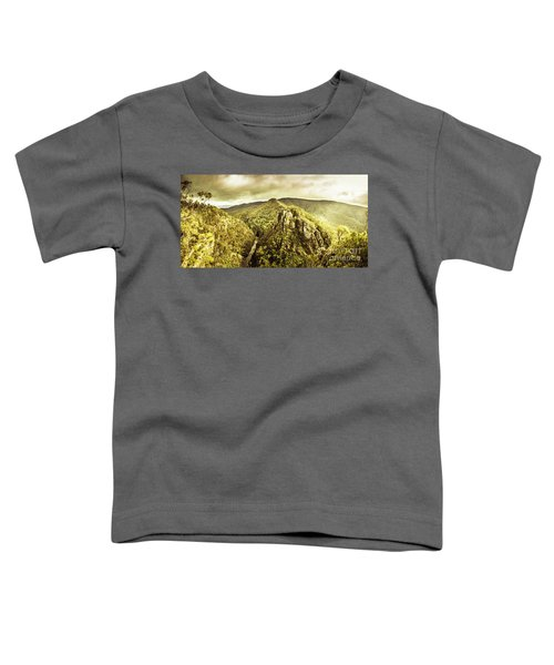 Cliffs, Steams And Valleys Toddler T-Shirt