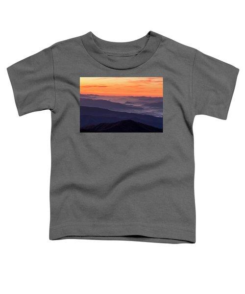 Clingmans Dome Fall Sunrise Toddler T-Shirt
