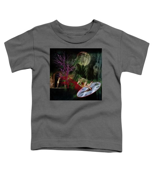 Clock Hair Disaster Toddler T-Shirt