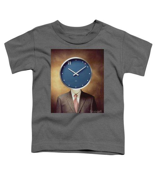 Clockhead Toddler T-Shirt