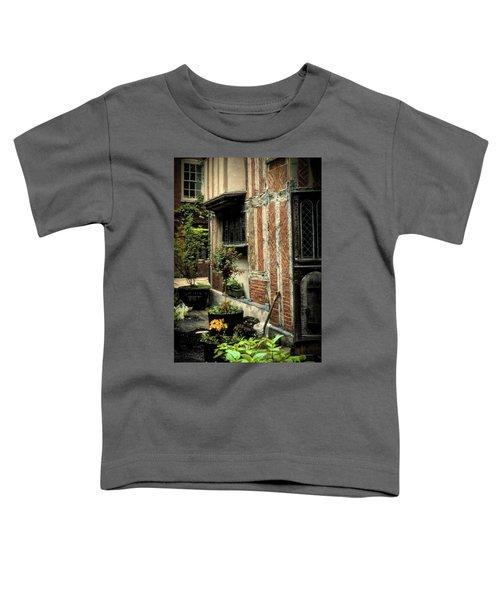 Cloister Garden - Cirencester, England Toddler T-Shirt