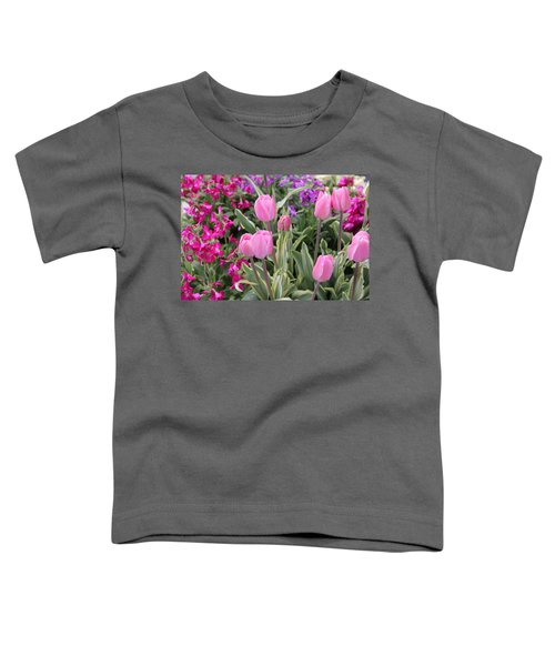 Close Up Mixed Planter Toddler T-Shirt
