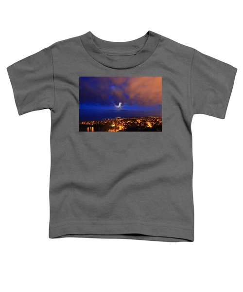 Clouded Eclipse Toddler T-Shirt