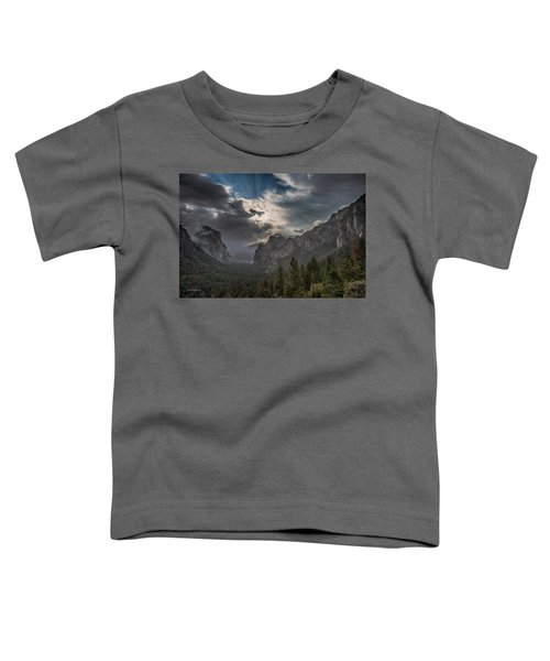 Clouds And Light Toddler T-Shirt by Bill Roberts