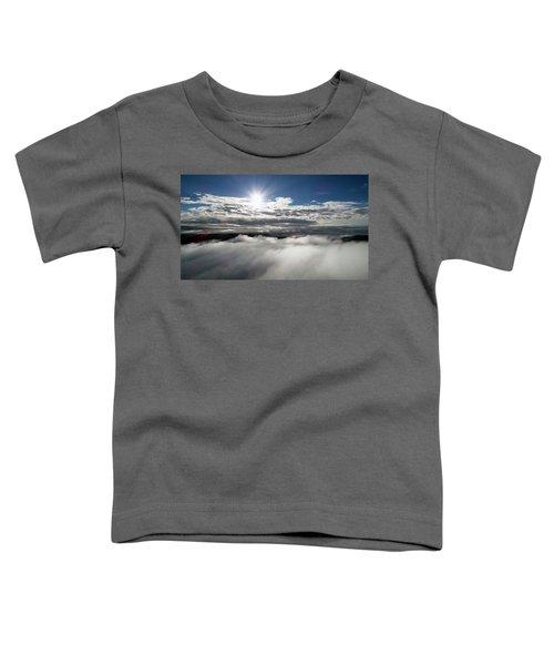 Clouds And Sun Toddler T-Shirt