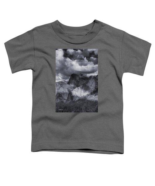 Clouds Over Bridal Veil Falls Toddler T-Shirt