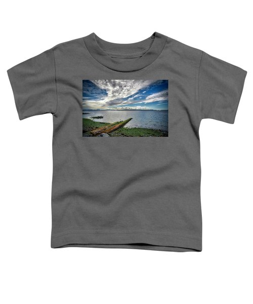 Clouds Over The Bay Toddler T-Shirt