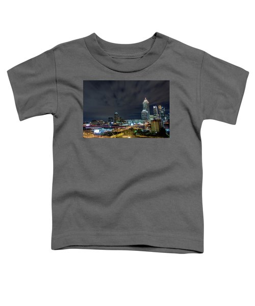 Cloudy City Toddler T-Shirt