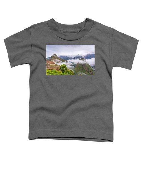 Cloudy Mountains. Toddler T-Shirt
