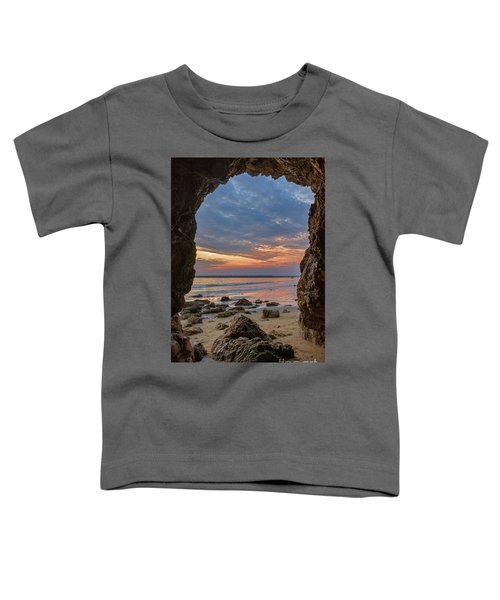 Cloudy Sunset At Low Tide Toddler T-Shirt