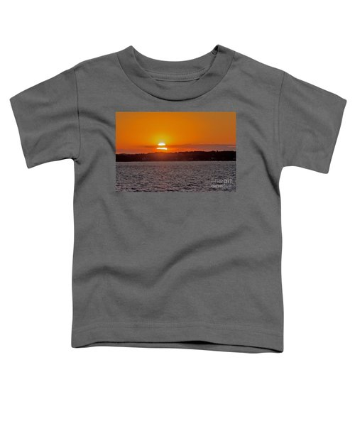 Cloudy Sunset Toddler T-Shirt