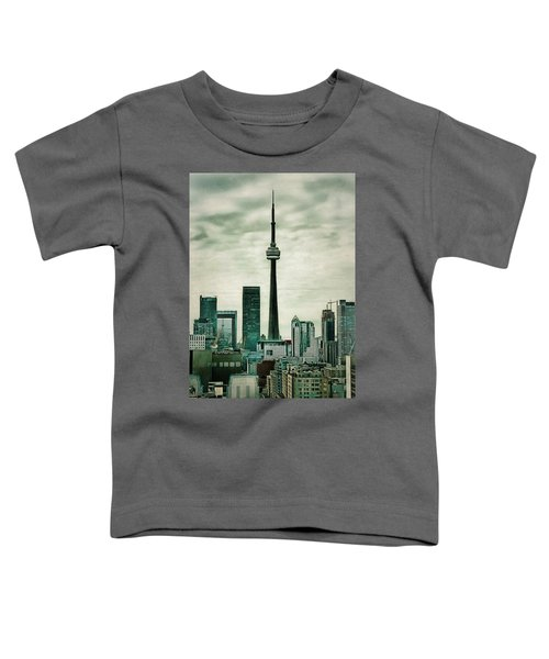 Cn Tower Toddler T-Shirt