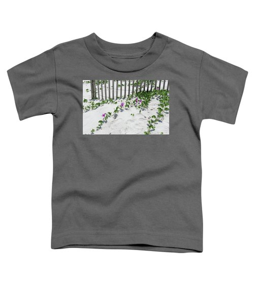 Coastal Flowers Toddler T-Shirt