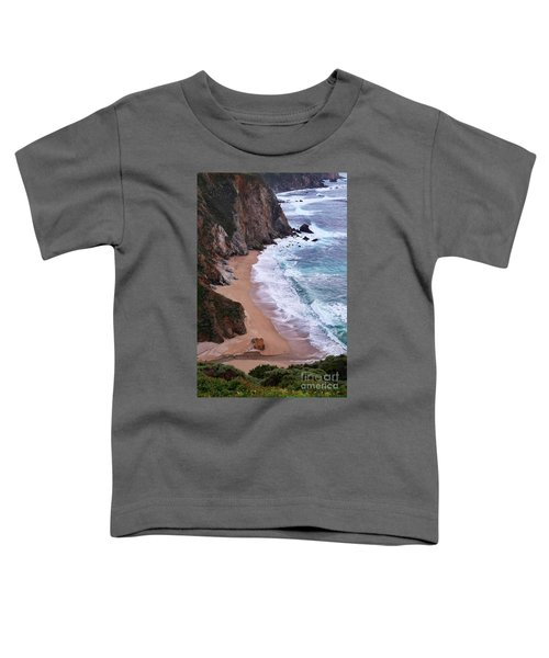 Coastal View At Big Sur Toddler T-Shirt