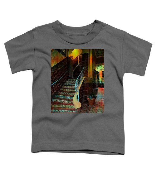 Cobblestone And Tile Toddler T-Shirt
