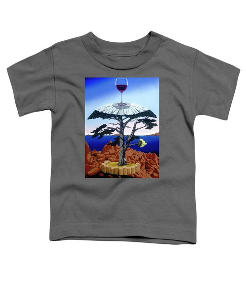 Cocktail Hour Toddler T-Shirt