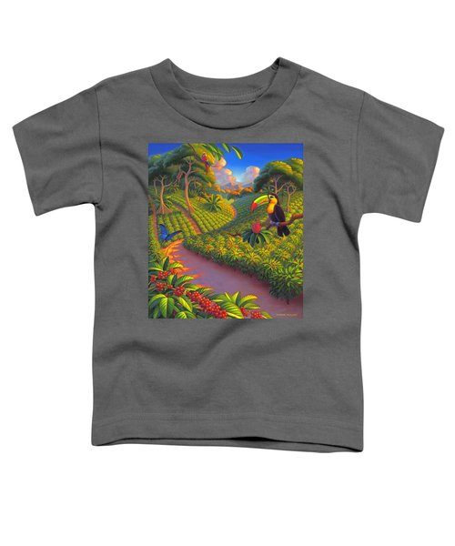 Coffee Plantation Toddler T-Shirt