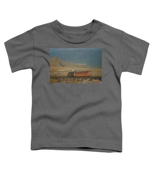Cog Railway Mount Washington Toddler T-Shirt