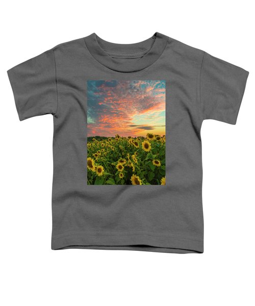 Colby Farm Sunflowers Toddler T-Shirt