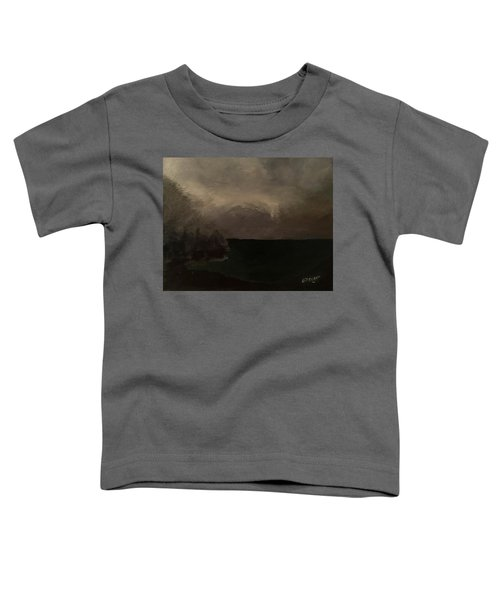 Cold Fog And Sea Toddler T-Shirt