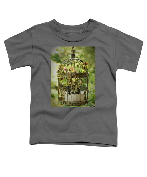 Coleus In Vintage Birdcage Toddler T-Shirt