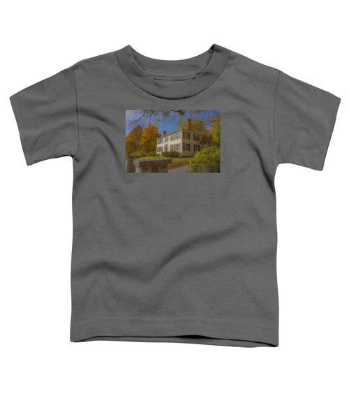 Colonial House On Main Street, Easton Toddler T-Shirt