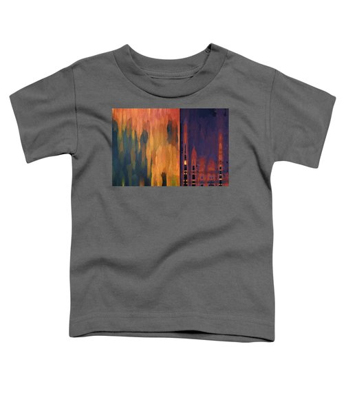 Color Abstraction Liv Toddler T-Shirt