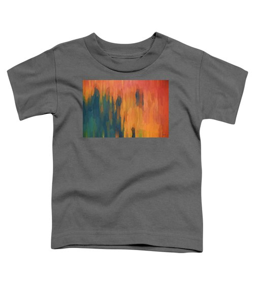 Color Abstraction Xlix Toddler T-Shirt