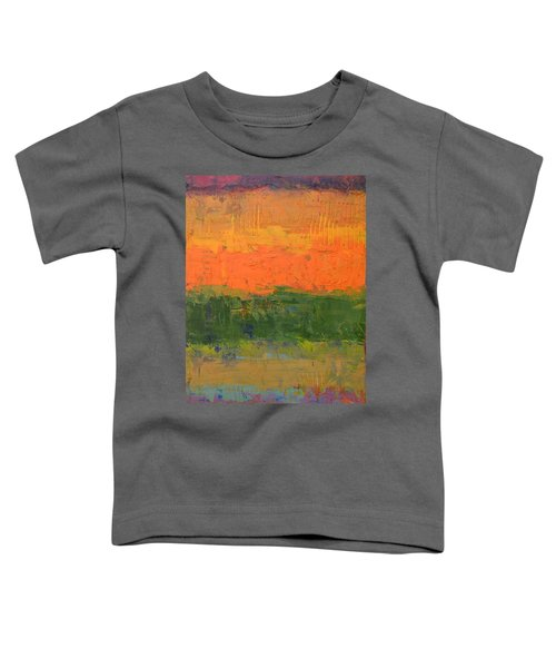 Color Collage Four Toddler T-Shirt by Michelle Calkins