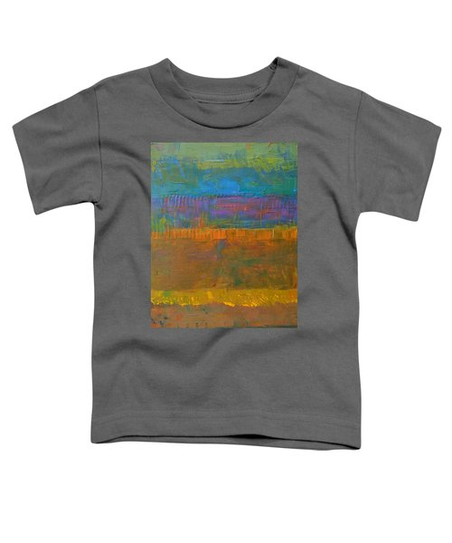 Color Collage One Toddler T-Shirt by Michelle Calkins