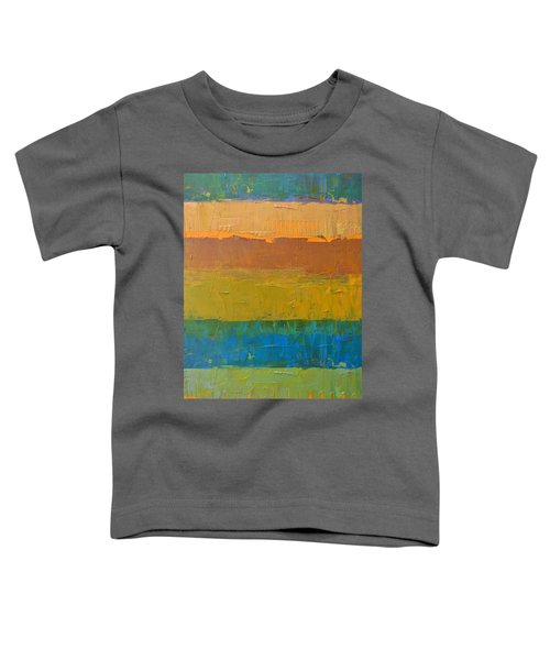 Color Collage Three Toddler T-Shirt by Michelle Calkins