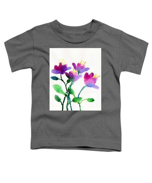 Color Flowers Toddler T-Shirt