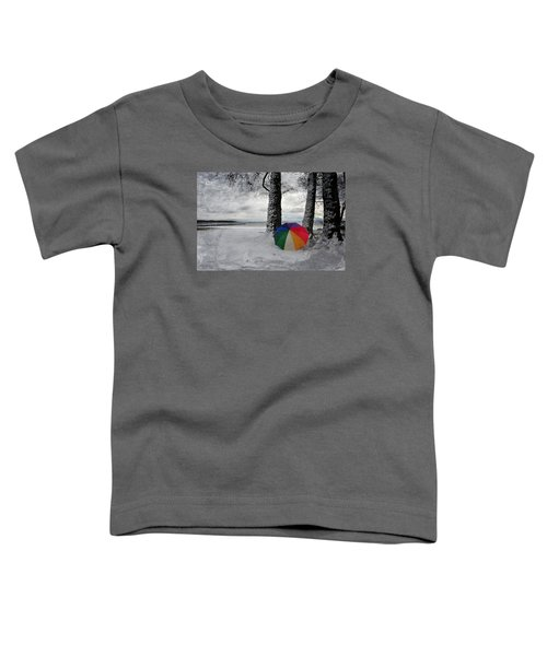 Color To The Melancholy Toddler T-Shirt