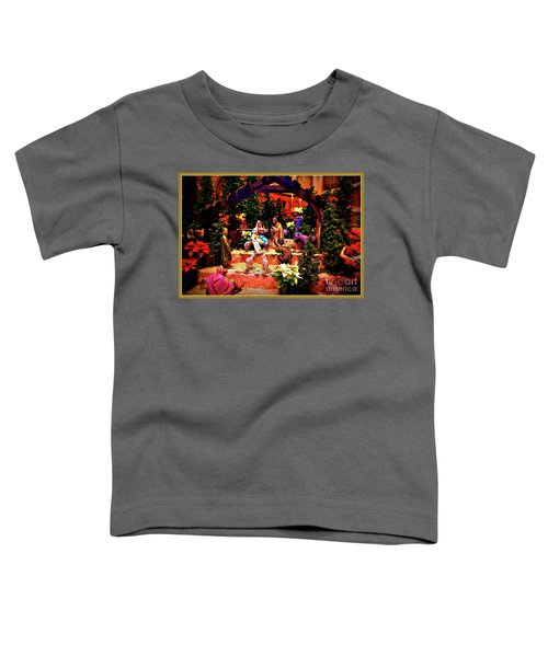 Color Vibe Nativity - Border Toddler T-Shirt