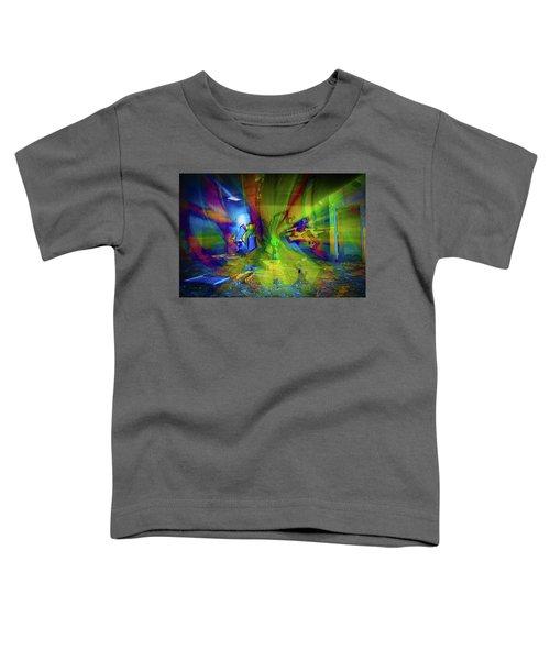 Color Wave Toddler T-Shirt