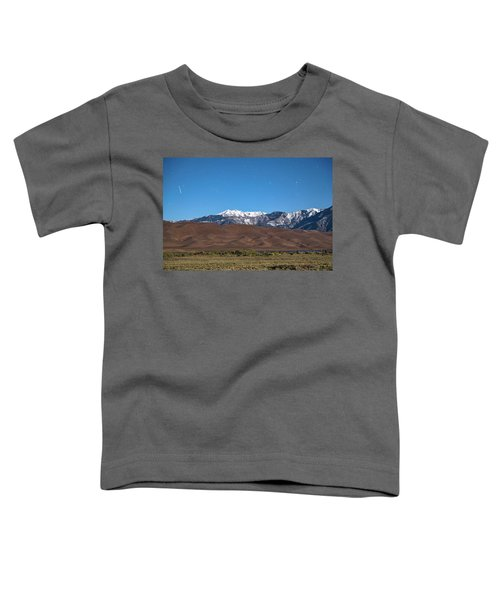 Colorado Great Sand Dunes With Falling Star Toddler T-Shirt by James BO Insogna