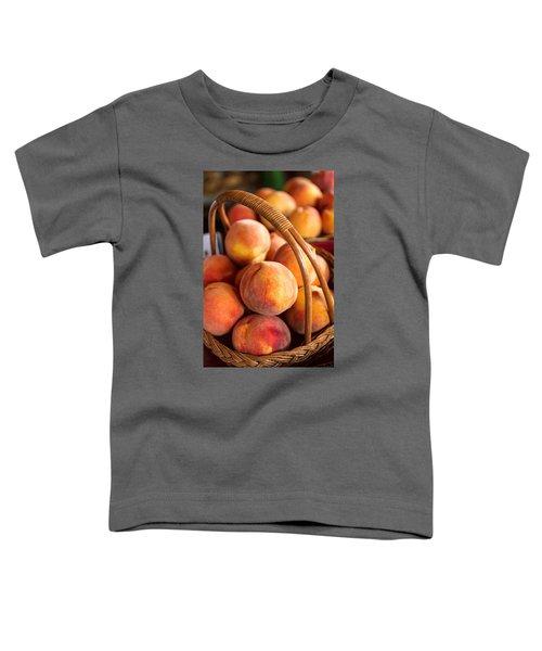 Colorado Peaches In Basket Toddler T-Shirt