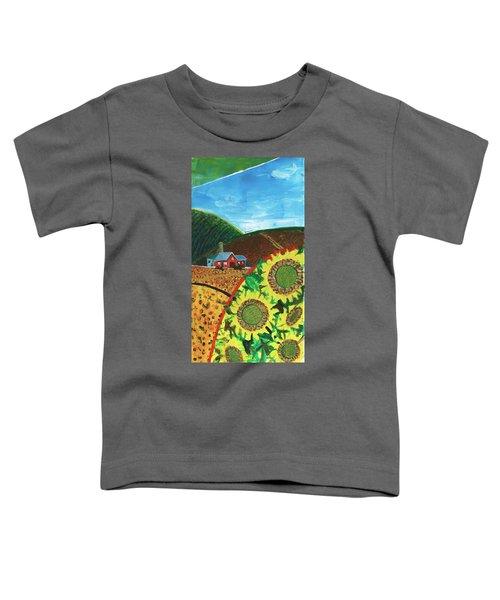 Colorado Sunflowers Toddler T-Shirt